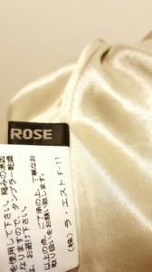 レストローズ L'EST ROSE ワンピース サイズサイズ 2 レディース ライトグレー【中古】