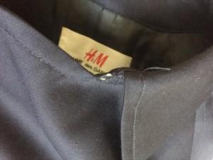 エイチアンドエム×コムデギャルソン H&M×COMMEdesGARCONS コート レディース ダークネイビー 春・秋物【中古】