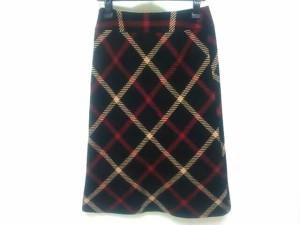 ポールスチュアート PaulStuart スカート サイズ9 M レディース 美品 黒×レッド×ベージュ【中古】