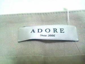 アドーア ADORE スカート サイズ38 M レディース 美品 ライトグレー【中古】