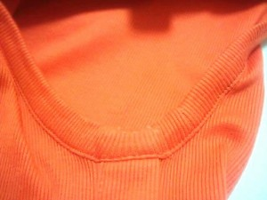 バーバリーロンドン Burberry LONDON ノースリーブカットソー サイズ2 M レディース 美品 オレンジ【中古】