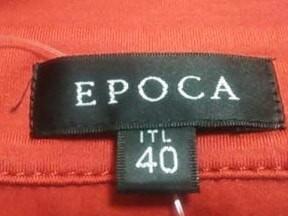 エポカ EPOCA 半袖ポロシャツ サイズITL 40 レディース 美品 レッド【中古】