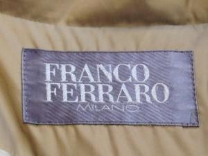 フランコフェラーロ FRANCO FERRARO ダウンコート サイズ2 M レディース ベージュ 冬物【中古】