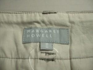 マーガレットハウエル MargaretHowell スカート サイズ2 M レディース カーキブラウン【中古】