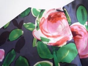 チェスティ Chesty ワンピース サイズ0 XS レディース 美品 ダークグレー×グリーン×ピンク 花柄【中古】