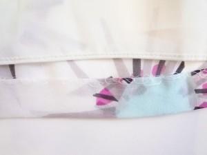 ダイアン・フォン・ファステンバーグ ワンピース サイズ0 XS レディース 美品 白×ライトブルー×ピンク【中古】