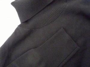 エストネーション ESTNATION ワンピース サイズ38 M レディース 美品 黒 ニット/タートルネック【中古】