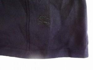 バーバリーロンドン Burberry LONDON ノースリーブセーター サイズ2 M レディース 美品 黒 ニットレース【中古】
