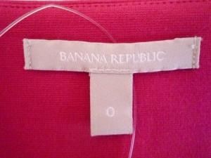 バナナリパブリック BANANA REPUBLIC ワンピース サイズ0 XS レディース レッド【中古】
