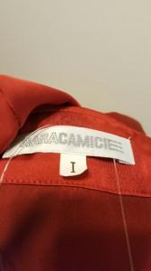ナラカミーチェ NARACAMICIE 長袖シャツブラウス サイズサイズ I レディース 新品同様 レッド【中古】