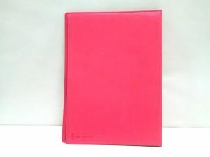 ファイロファックス Filofax ブックカバー flex ピンク A4ノートカバー&ノート 合皮【中古】