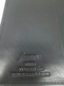 ファイロファックス Filofax 手帳 美品 Nappa 黒 A5 レザー【中古】