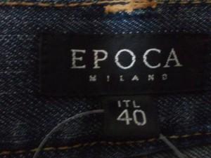 エポカ EPOCA ジーンズ サイズ40 M レディース ブルー×グレー【中古】