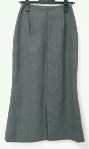 ホコモモラ JOCOMOMOLA ロングスカート サイズ38 L レディース ダークグレー【中古】