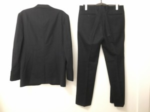 メンズティノラス MEN'S TENORAS シングルスーツ サイズLARGE L メンズ 美品 黒 3点セット【中古】
