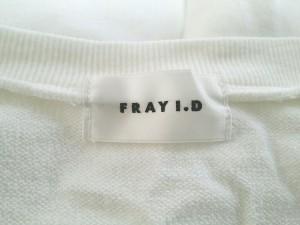 フレイアイディー FRAY I.D ワンピース サイズ0 XS レディース 美品 白×ブルー トップス付き/ボーダー【中古】