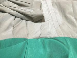 ガリャルダガランテ GALLARDAGALANTE ワンピース サイズF F レディース ブラウン×グリーン COLLAGE【中古】