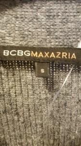ビーシービージーマックスアズリア BCBGMAXAZRIA カーディガン サイズサイズ S レディース グレー ロング丈【中古】