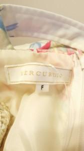 マーキュリーデュオ MERCURYDUO ワンピース サイズサイズ F レディース 白×ピンク×マルチ 花柄【中古】