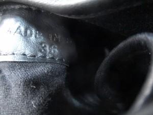 ルコライン RUCO LINE スニーカー 36 レディース 黒 ヒールスニーカー レザー【中古】