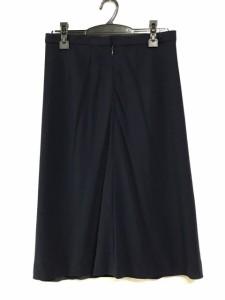 レリアン Leilian スカート サイズ13+ S レディース 美品 ネイビー【中古】