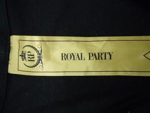 ロイヤルパーティー ROYALPARTY ジャケット サイズ38 M レディース 新品同様 黒【中古】