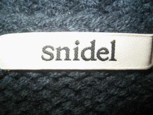 スナイデル snidel ワンピースセットアップ サイズ0 XS レディース グリーン×アイボリー×黒 ニット/チェック柄【中古】