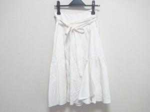 マテリア MATERIA ロングスカート サイズ38 M レディース 美品 白【中古】