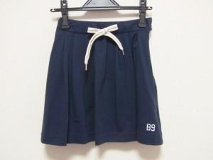 パーリーゲイツ PEARLY GATES ミニスカート サイズ0 XS レディース 美品 ダークネイビー【中古】