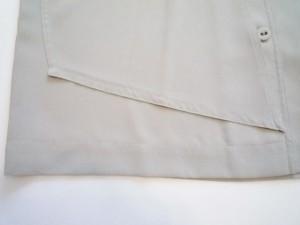 トクコ・プルミエヴォル TOKUKO 1er VOL ノースリーブシャツブラウス サイズ9 M レディース 美品 グレー シースルー【中古】