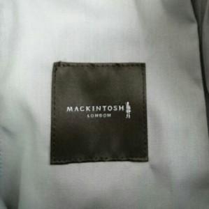 マッキントッシュ MACKINTOSH パンツ サイズウエスト85 メンズ 美品 ダークグレー×白×オレンジ【中古】