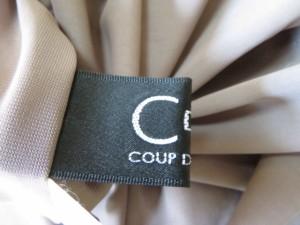 クードシャンス CdeC COUP DE CHANCE ワンピース サイズ38 M レディース 美品 ベージュ×シルバー×クリア ビジュー【中古】