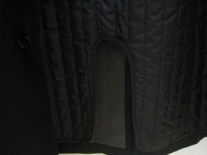 カルバンクライン CK39 コート サイズM  M メンズ 美品 黒 冬物【中古】