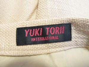 ユキトリイ YUKITORII スカート サイズ38 M レディース ベージュ【中古】