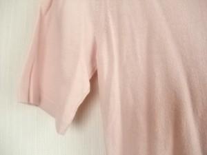 シャネル CHANEL 半袖セーター サイズ38 M レディース ピンク【中古】