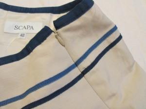 スキャパ Scapa スカート サイズ42 L レディース ベージュ×グリーン×ライトブルー【中古】