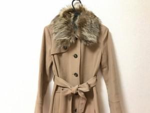 ボールジー BALLSEY コート サイズ38 M レディース ライトブラウン 冬物【中古】