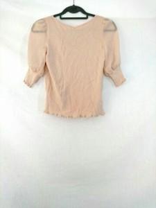 トゥービーシック TO BE CHIC 七分袖カットソー サイズ2 M レディース ピンク【中古】
