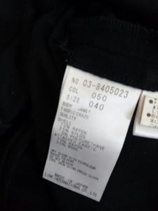 ブルーガールブルマリン BLUGiRL BLUMARINE 半袖カットソー サイズ38 S レディース 美品 黒×ピンク×マルチ シースルー/花柄【中古】