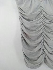 シトラスノーツ CITRUS NOTES ノースリーブカットソー サイズ38 M レディース 美品 グレー レース【中古】