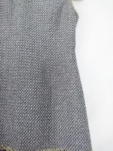 ルネ Rene ワンピース サイズ36 S レディース 美品 白×ネイビー【中古】