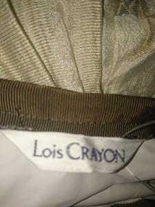 ロイスクレヨン Lois CRAYON スカート サイズM レディース 美品 アイボリー×グリーン×マルチ【中古】