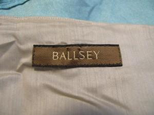 ボールジー BALLSEY ワンピース サイズ38 M レディース ライトブルー×ベージュ【中古】