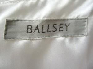 ボールジー BALLSEY ワンピース レディース 白 部分レース【中古】