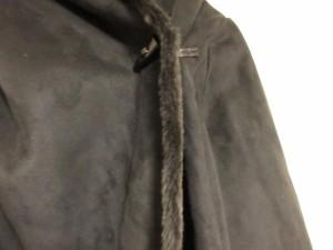 レジューヴ Rejoove コート サイズ11 M レディース 黒 冬物【中古】