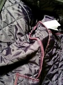 ラベンハム LAVENHAM ブルゾン サイズ38 M メンズ ダークグレー 冬物/キルティング【中古】