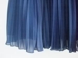 ストロベリーフィールズ STRAWBERRY-FIELDS ワンピース サイズ2 M レディース 美品 ブルー プリーツ【中古】
