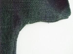 ニジュウサンク 23区 チュニック サイズ38 M レディース ダークグレー ニット/ドルマンスリーブ【中古】