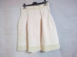 キャシャレル cacharel スカート サイズ36 S レディース 美品 アイボリー【中古】