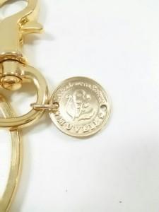 ミュベール MUVEIL キーホルダー(チャーム) 美品 ゴールド×マルチ 馬 金属素材×レザー【中古】